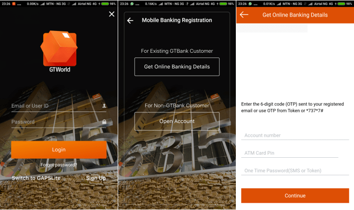 how to download and use the GTWorld App