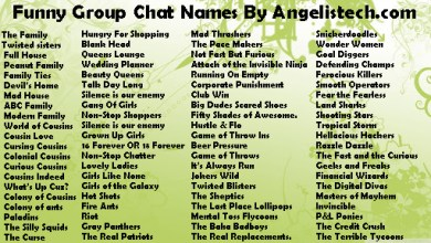 Photo of Funny group chat names for families & friends