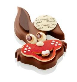 malin le lapin Chocolats Pâques Pascal Caffet