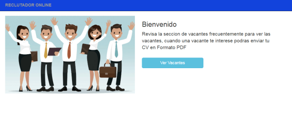 Sistema reclutador vacantes PHP 6