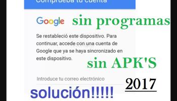 ANTIRROBO de google SI NPROGRAMAS NI APLICACIONES