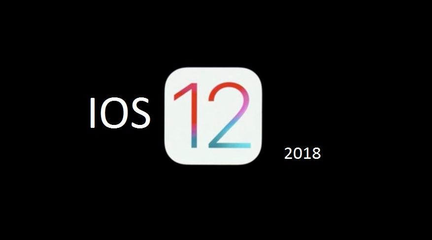 update a ios 12 2018