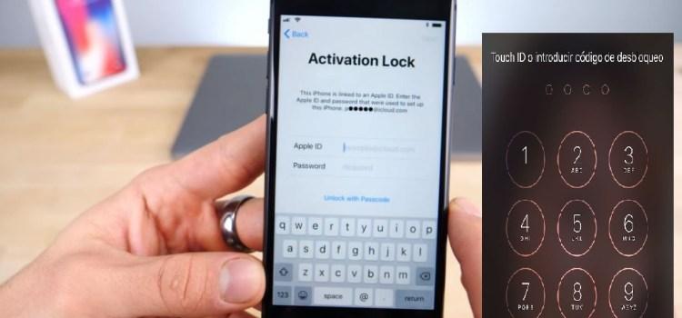 Eliminar pin de bloqueo en iphone 6 bloqueo de activacion
