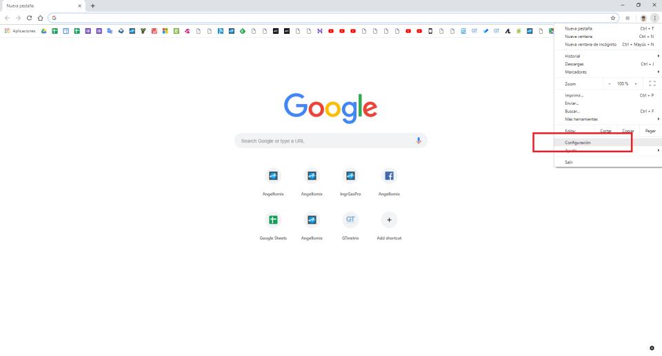 cambiar el fondo o tema de google chrome 1 min