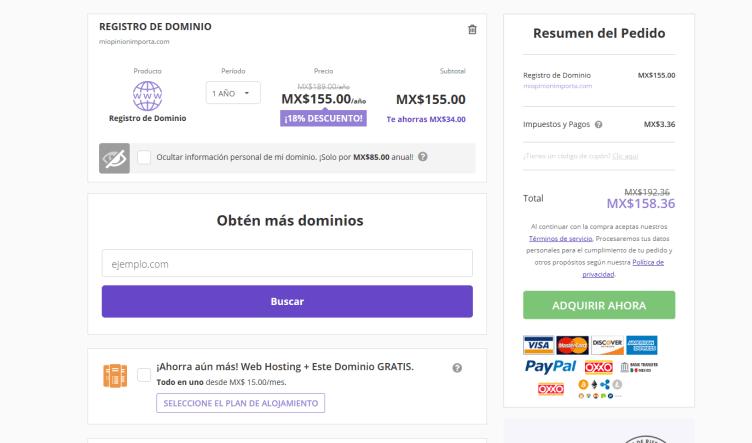 comprar dominio y hosting en hostinger min