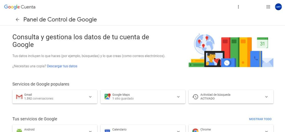 eliminar cuenta google 1 min