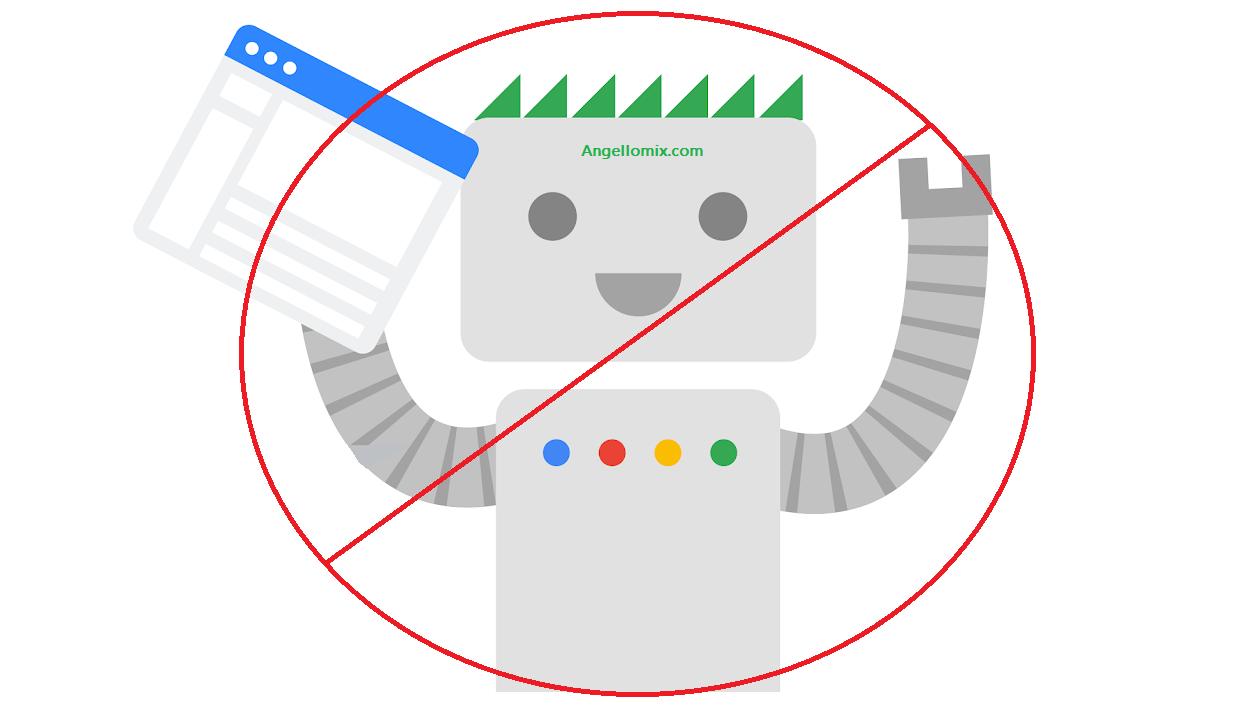 Como bloquear a google bots
