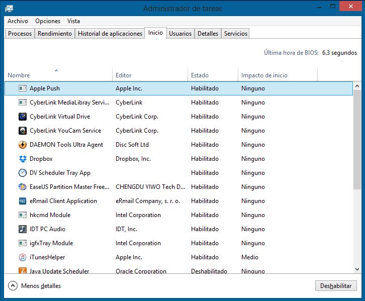 aprende a mejorar la velocidad de inicio en windows 10
