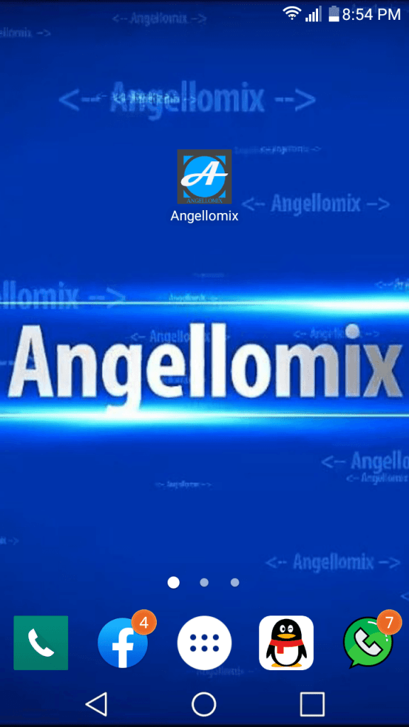 aplicacion angellomix 1