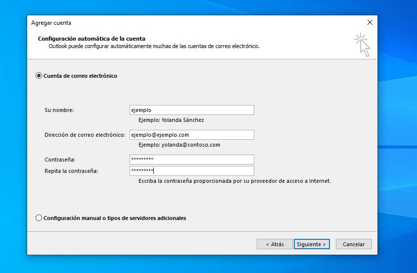 antes de reverar el password detras de los asteriscos