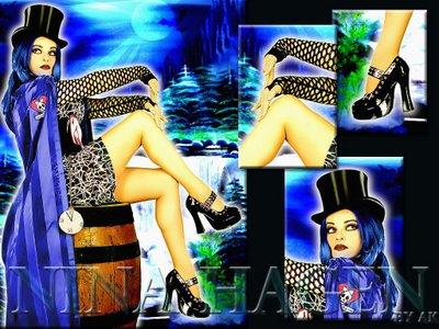 Nina Hagen mi extravagante punk con inusual voz. (5/6)