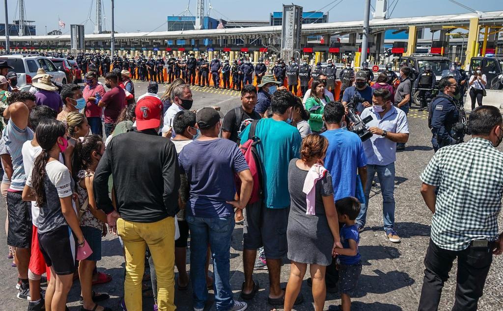 """ONG alerta sobre menores no acompañados y """"detenciones violentas"""" en México"""
