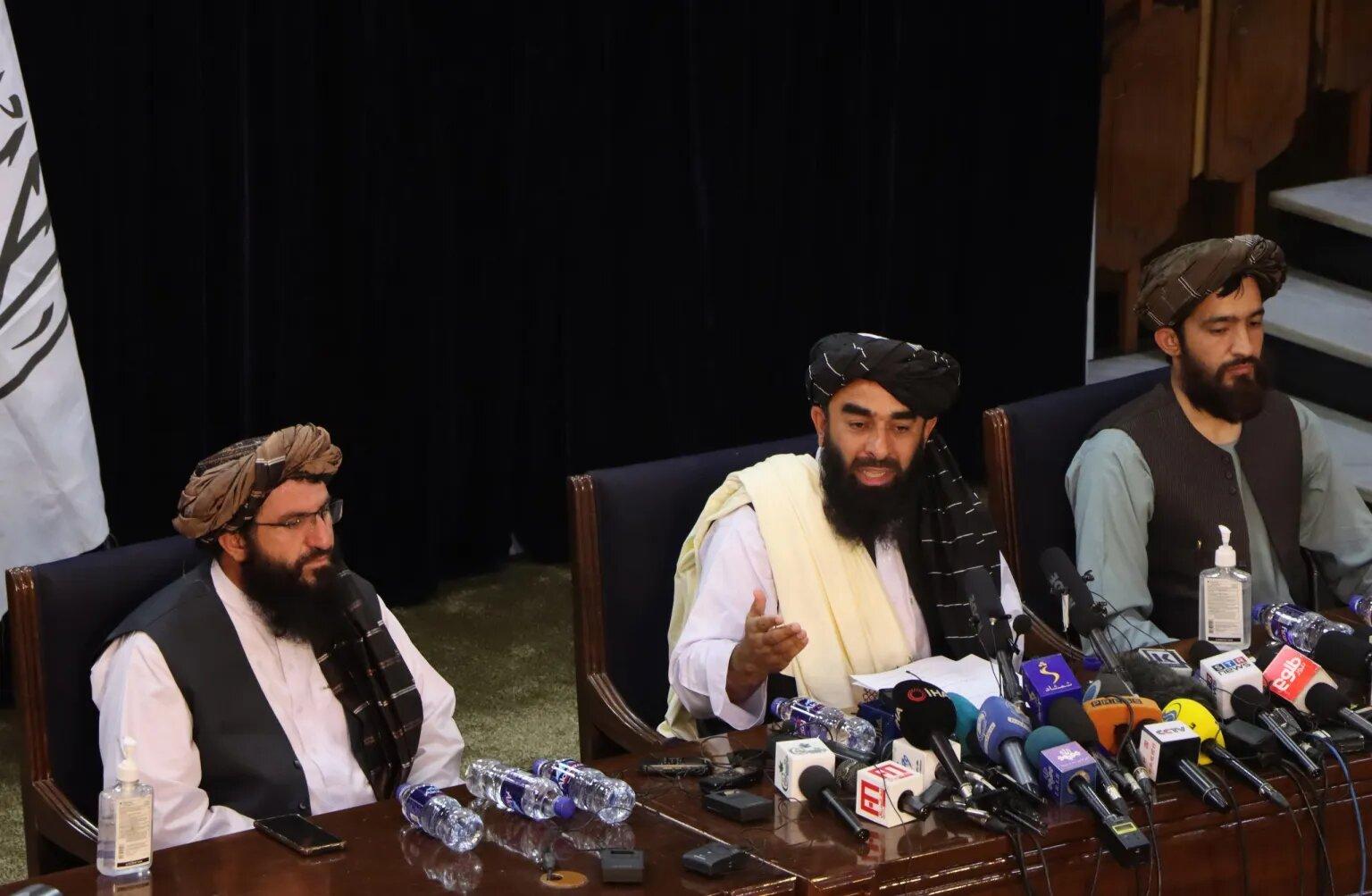 talibanes gobierno
