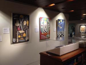 Some of My Paintings on Exhibit