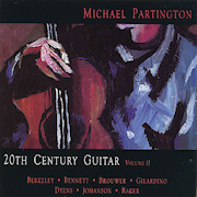 Discografia: 20th Century Guitar – Michael Partington