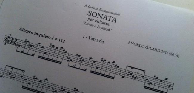 Sonata-Gilardino-Lettere a Gryderyk