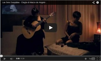 Las Seis Doncellas – Elegía di Marzo de Angelo Gilardino