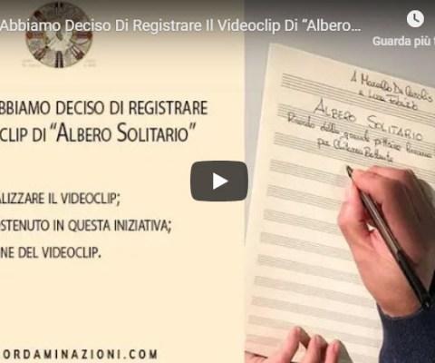 Videoclip di Albero Solitario