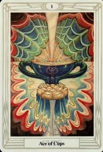 Ace of Cups, Thoth Tarot