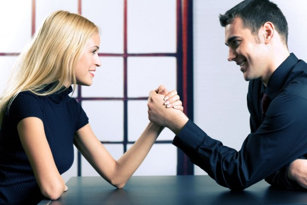 power struggle in a love relationship