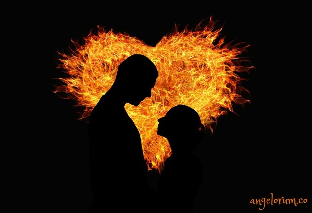 man-and-woman-lovers-in-a-heart-of-fire