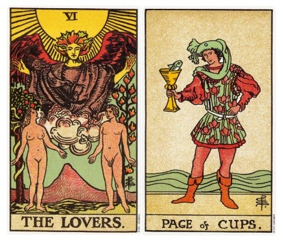 Role Play Sex Tarot card combo