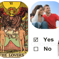 List of Yes / No Tarot Card Meanings for Love & Romance Questions