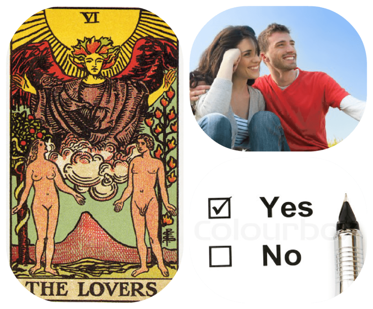 yes no tarot card meanings for love and relationships