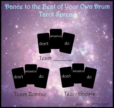 Dance to the beat of your own drum - Halloween Tarot Spread
