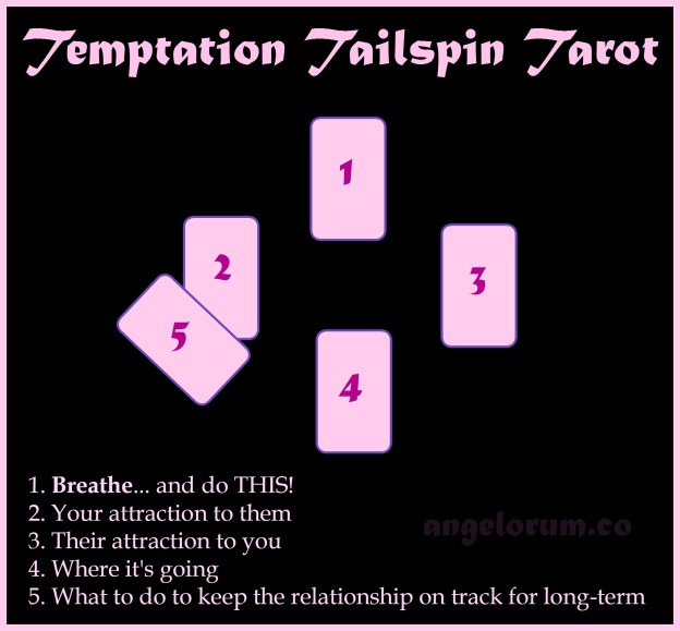 The Temptation Tailspin Tarot Spread