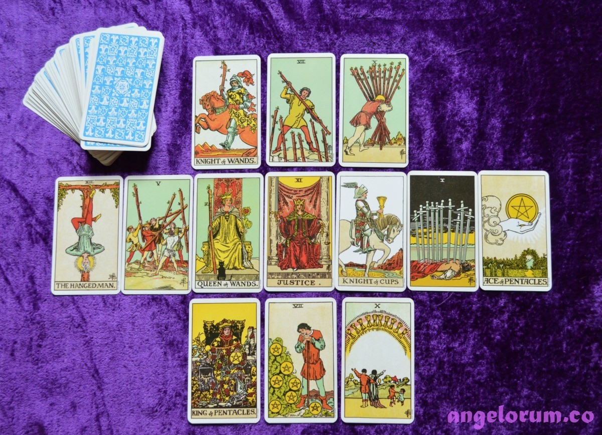 123 How I Read The Tarot Cards Intuitively With Video Tutorial Angelorum