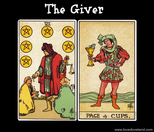 Givers, Takers and Matchers in Love and in the Tarot