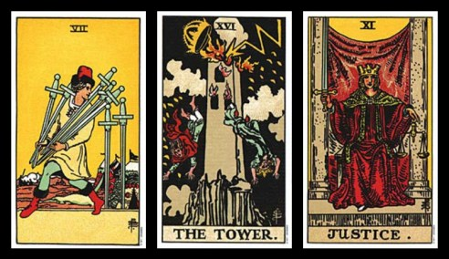 excuses for cheating tarot card combinations 2