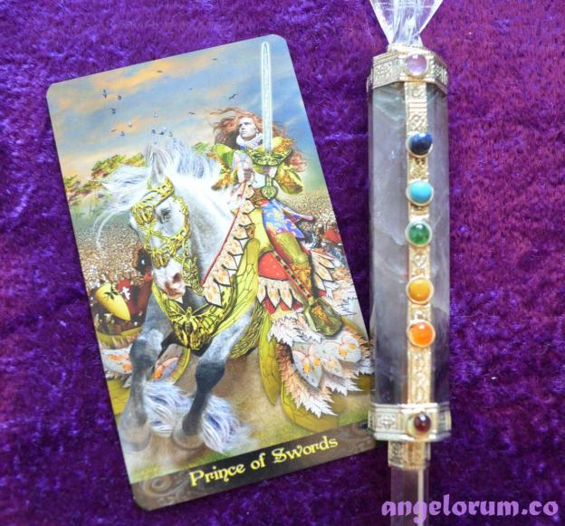 Prince of Swords Tarot Illuminati