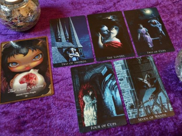 Bohemian Gothic Tarot and Les Vampires