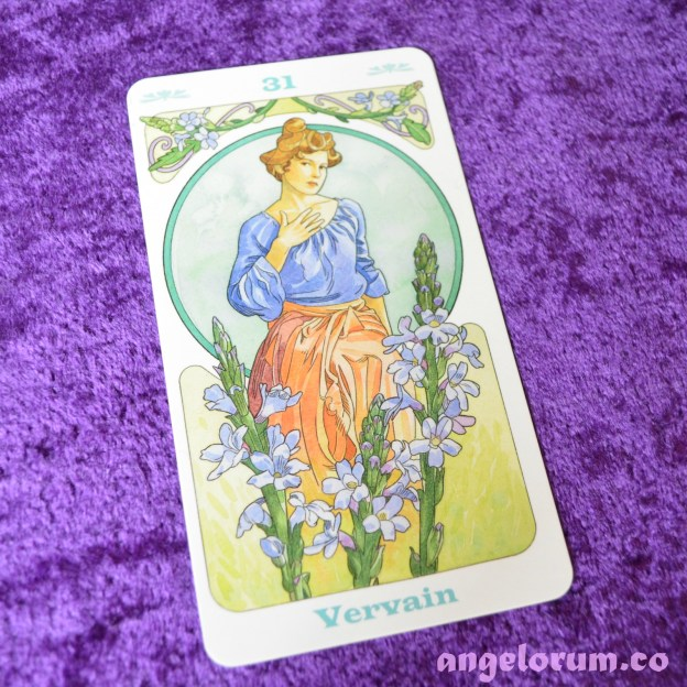 Vervain Bach Flower Remedy Oracle Cards