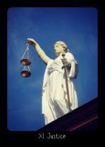 Justice Frideborg Tarot Digital Version