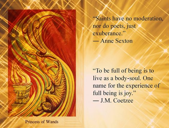 tarot card page of wands tarotized quotes