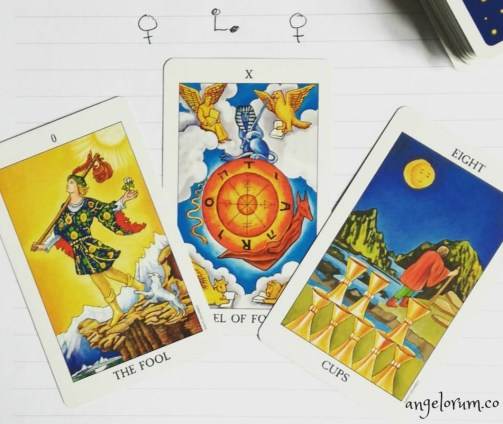 venus square venus tarot reading about astrological transit