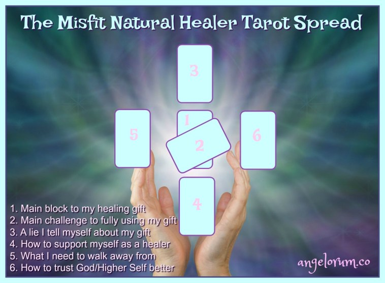 The Misfit Natural Healer Tarot Spread