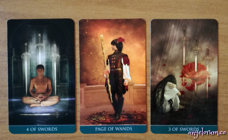angelic tarot week ahead messages thelema tarot reveal