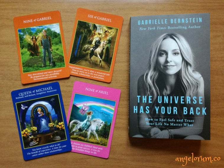 Archangel Power Tarot and The Universe Has Your Back by Gabrielle Bernstein
