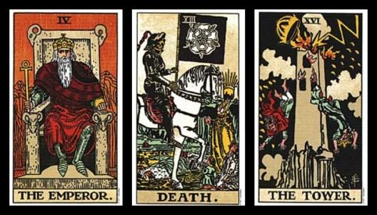 Archangel Camael/Mars Tarot Cards Major Arcana