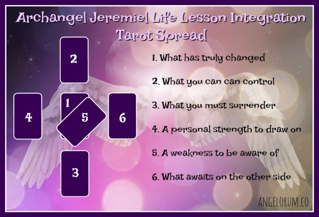 Archangel Jeremiel Life Lesson Integration Tarot Spread