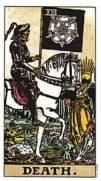 the tarot death card