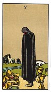 the 5 of cups tarot card