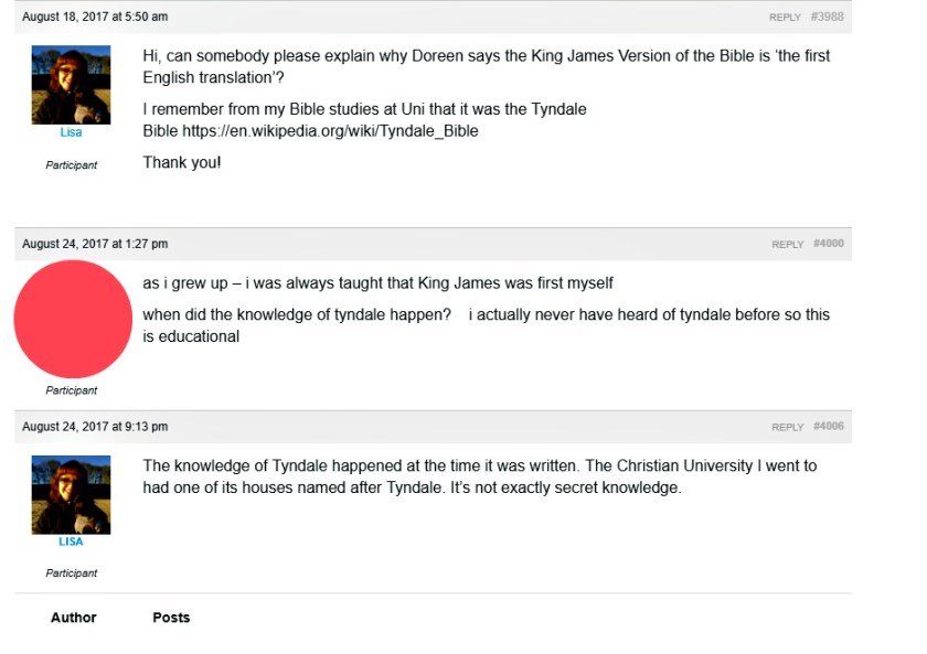 King James Version first English Bible Translation
