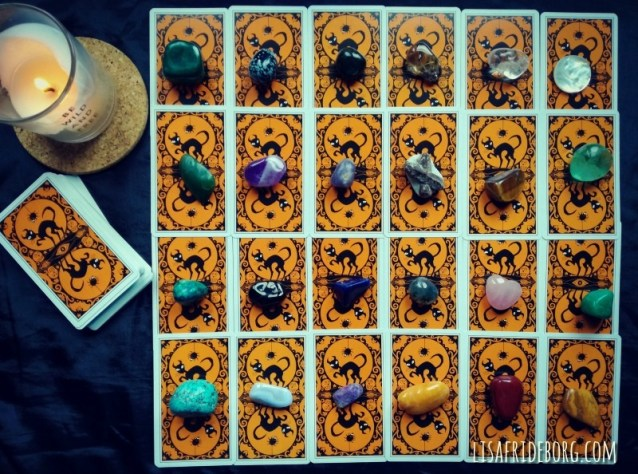 Find your power crystal for the year ahead with the Tarot