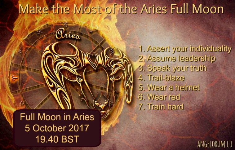 7 things to do to help you make the most of the aries full moon