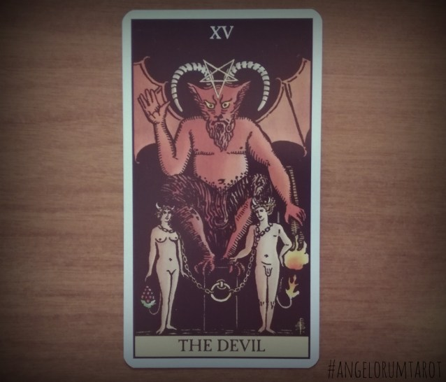 Day 22 of the 2017 Year Review The Devil Tarot Card